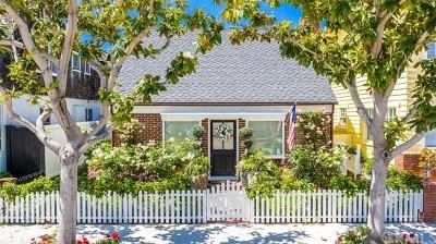 Newport Beach Rental For Rent: 1717 Miramar Drive