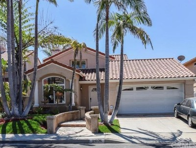 Mission Viejo Single Family Home For Sale: 21026 Ponderosa