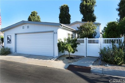 Irvine Mobile Home For Sale: 5200 Irvine Blvd. #65