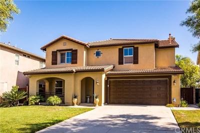 Corona Single Family Home For Sale: 11002 Evergreen