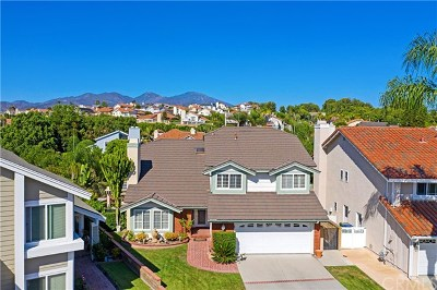 Mission Viejo Single Family Home For Sale: 22086 Teresa