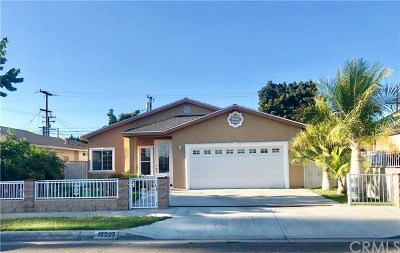Hawaiian Gardens Single Family Home For Sale: 12223 Brittain Street