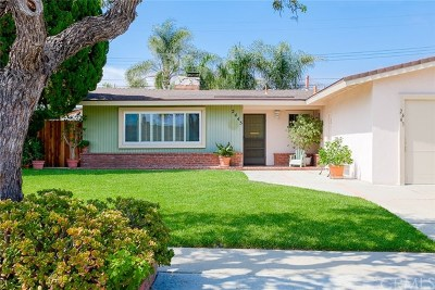 Costa Mesa Single Family Home For Sale: 2443 Littleton Place