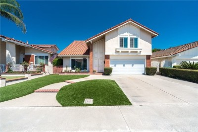 Irvine Single Family Home For Sale: 3611 Sego Street
