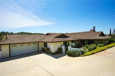 Fallbrook Single Family Home For Sale: 3135 Canonita Drive