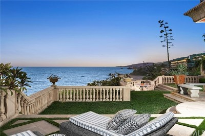 Laguna Beach Single Family Home For Sale: 31521 Bluff Drive