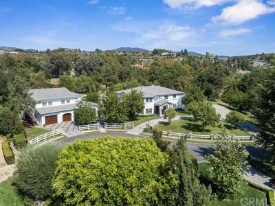 Coto de Caza Single Family Home For Sale: 22902 Sonriente Trail