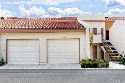 Mission Viejo CA Condo/Townhouse For Sale: $445,000