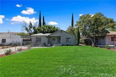 San Bernardino Single Family Home For Sale: 1551 Kendall Drive