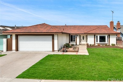 Fountain Valley CA Single Family Home For Sale: $890,000