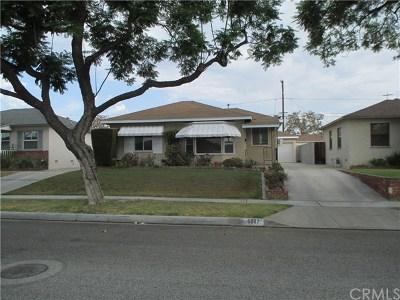 Lakewood Single Family Home For Sale: 5847 Dashwood Street