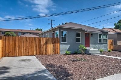 Santa Ana CA Single Family Home For Sale: $544,888