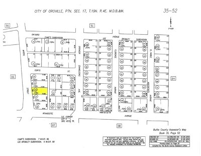Oroville Residential Lots & Land For Sale: Myers Street