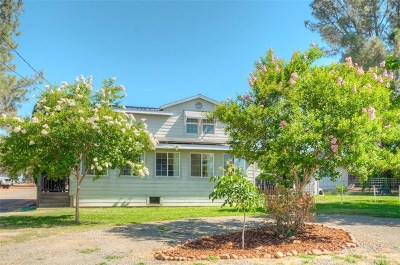 Oroville Single Family Home Active Under Contract: 3469 Oro Bangor