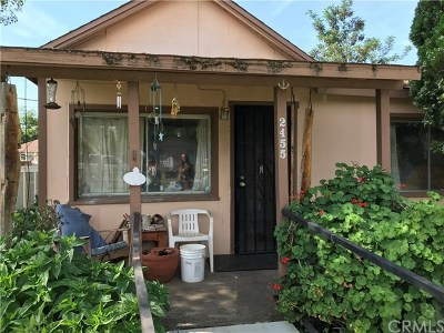 Oroville Multi Family Home For Sale: 2455 Greenville Street