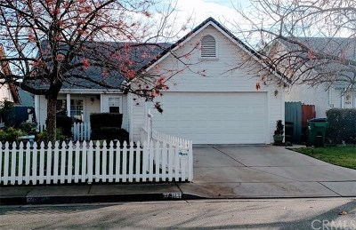 Chico Single Family Home For Sale: 2083 Mansfield Court