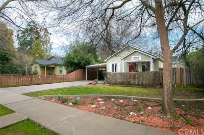 Chico Single Family Home For Sale: 1170 Hobart Street
