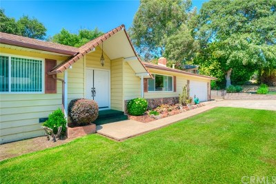 Oroville Single Family Home For Sale: 6 Rockridge Road