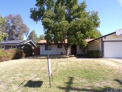 Oroville CA Single Family Home For Sale: $234,000