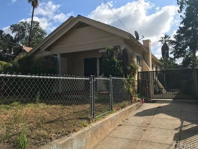 Pasadena Single Family Home For Sale: 1426 Sunset Avenue