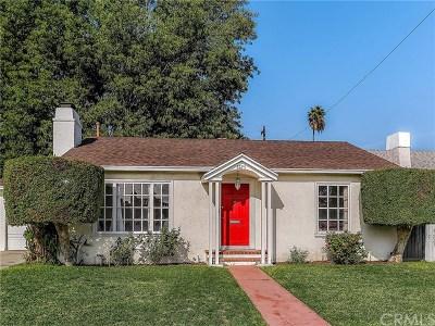 Pasadena Single Family Home Active Under Contract: 3725 Corta Calle Street