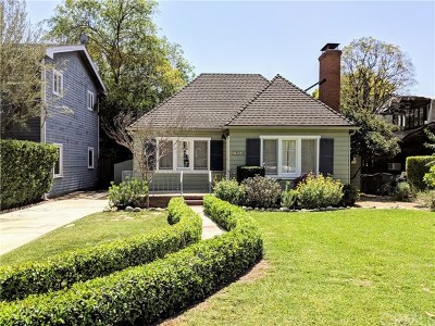 Pasadena Single Family Home For Sale: 1790 Rose Villa Street