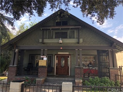 Pasadena Multi Family Home For Sale: 350 E Orange Grove Boulevard