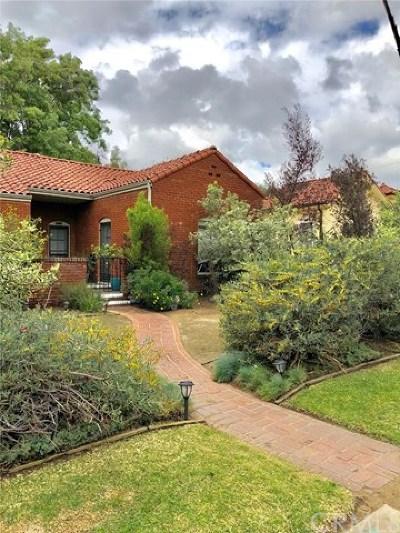 South Pasadena Multi Family Home For Sale: 1733 La Senda Place