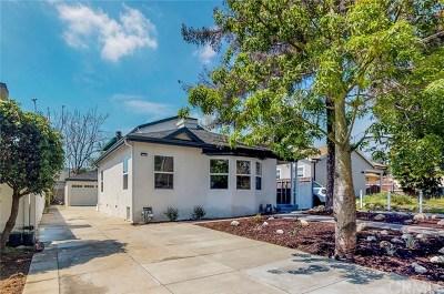 Pasadena Single Family Home For Sale: 1611 Bancroft Way