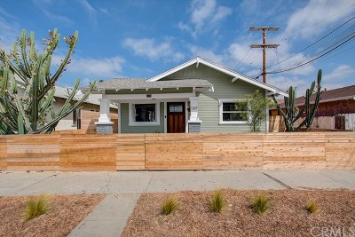 Long Beach Single Family Home For Sale: 1169 E 17th Street