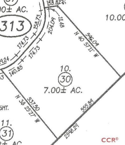 Arroyo Grande Residential Lots & Land For Sale: 1070 Montecito Ridge Drive