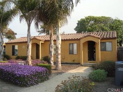 Grover Beach Multi Family Home For Sale: 342 Rockaway