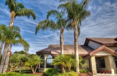 Arroyo Grande Single Family Home For Sale: 475 Via Las Aguilas