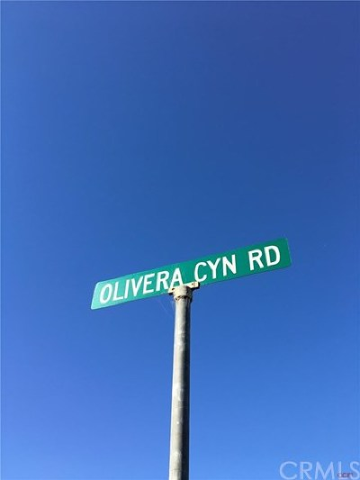 Santa Maria Residential Lots & Land For Sale: 5918 Olivera Canyon Road