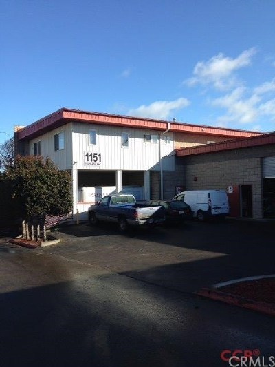 San Luis Obispo County Commercial For Sale: 1151 Highland