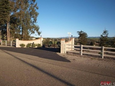 Arroyo Grande Residential Lots & Land For Sale: 151 Vista Montana