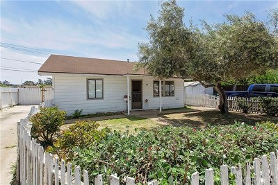 Santa Maria Single Family Home For Sale: 260 Prescott Lane
