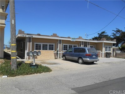 Pismo Beach, Arroyo Grande, Grover Beach, Oceano Multi Family Home For Sale: 1358 Strand Way