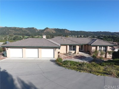 Arroyo Grande Single Family Home For Sale: 155 Big Canyon Court