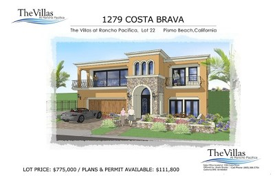 Pismo Beach Residential Lots & Land For Sale: 1279 Costa Brava