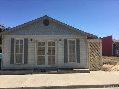 Oceano Single Family Home For Sale: 374 Pier Avenue #A & B