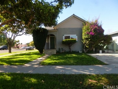 Santa Maria Single Family Home For Sale: 301 E Mill Street