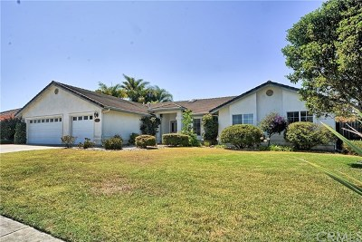 Santa Maria Single Family Home For Sale: 632 Glen Cairon Drive