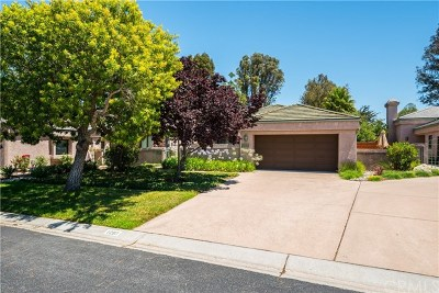 San Luis Obispo Single Family Home For Sale: 1280 Miraleste Drive