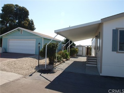 Arroyo Grande Mobile Home For Sale: 655 S Halcyon Road