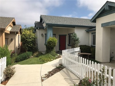 San Luis Obispo County Single Family Home Active Under Contract: 1332 Jasmine Place