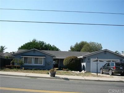 Nipomo Single Family Home For Sale: 820 Juniper Street