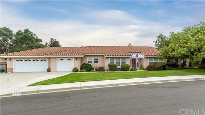 San Luis Obispo County Single Family Home For Sale: 679 Shelter Ridge Place