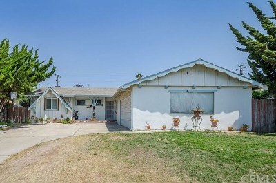 Orcutt Single Family Home For Sale: 3012 Courtney Drive