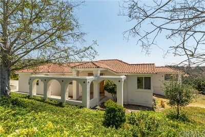 Arroyo Grande Single Family Home For Sale: 288 Equestrian Way